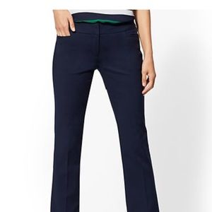 New York and Co navy straight leg pants MUST GO